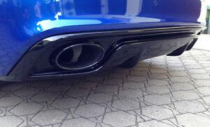 Rieger-Heckeinsatz-schwarz-glaenzend-fuer-Audi-A5-B8-Coupe-Cabrio-Facel-S-Line-S5