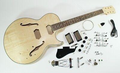 complet Kit de montage pour semi guitare électrique - Jazz Guitare - GSH