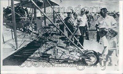 1970 Vintage 1911 Curtiss Pusher Biplane  Press Photo