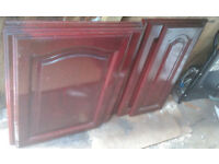 kitchen cupboard doors 7 in total all solid wood