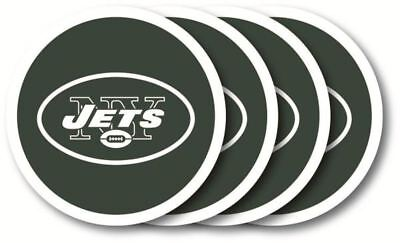 New York Jets Coaster 4-Pack Set Duck House - Duck House New York Jets