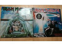 Iron Maiden First Ten Years Double Vinyl Aces High Two Minutes To Midnight