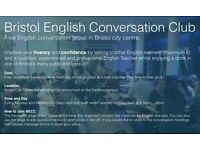 Bristol English Conversation Club - Free English Conversation with Qualified English Teachers