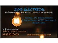 Electrician in Yorkshire( SKAY Electrical)