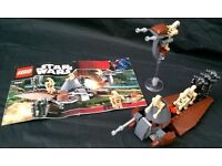 LEGO Star Wars Droid Battle Pack Set 7654 with instructions & mini figures
