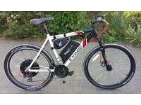Electric Bike. Wing Evade Mountain eBike 1000w 48v 12ah battery. Very Fast