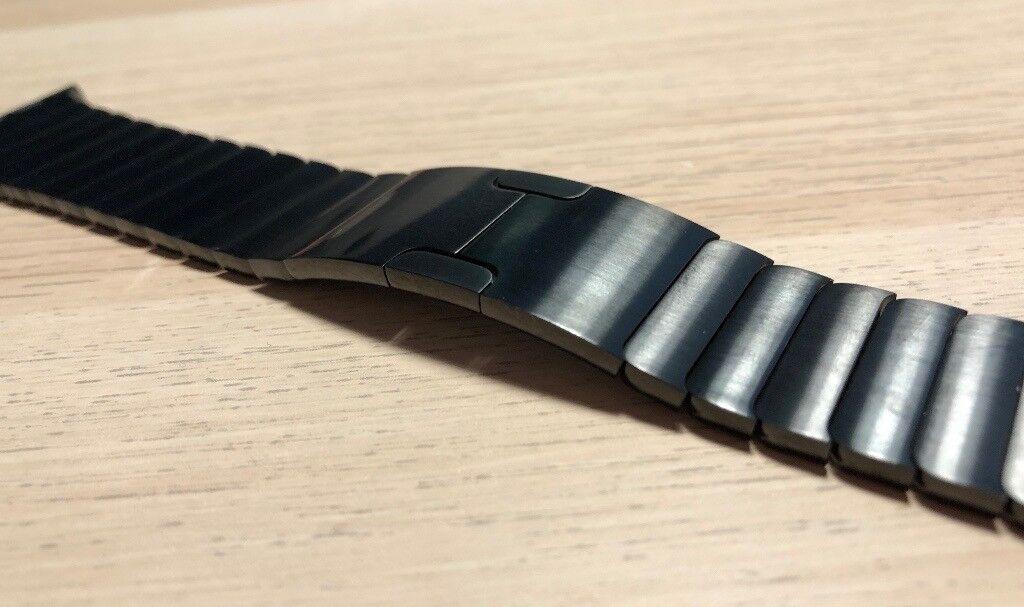 Apple Watch Link Bracelet - 42mm - Space Black - Genuine