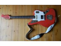 Fender Jaguar Fiesta Red 1962 original guitar (not reissue)