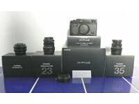 Fujifilm X-Pro2 and lenses