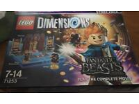 Lego Dimensions Fantastic Beasts Story Pack and fun Pack