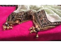 Asian bridal wedding party shalwar kameez from Khushboos Birmingham