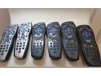 SKY HD Remote Controls x6 BUNDLE JOB LOT BARGAIN!