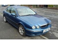 2002 JAGUAR X TYPE 2.1 V6