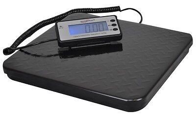 WeighMax UB840 440 Lb Heavy Duty Digital Shipping Postal Scale Metal Platform