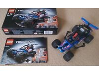 Lego Technic 42010 Pull Back Blue Buggy