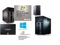 Powferfull Dell PowerEdge servers with official COA SBS 2011 & windows 2012R2