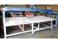 Marble cutting saw