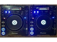 2 X Pioneer cdj 1000 mk3 TUNDE & SERVICED cd mp3 dj deck