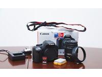 Canon EOS 500D 15.1MP Digital SLR Camera - Black With Kit 18-55 Lens + Battery Grip