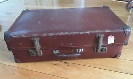 Vintage brown suitcase 70 x 45 x 20 Movie prop
