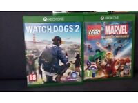 Watchdogs 2 II LEGO Marvel Super Heroes XBOX ONE Cheap Games