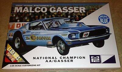 MPC Ohio George MALCO Gasser 1967 Mustang 1/25 plastic model car kit new B 804
