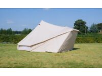 5m Hybrid bell tents - used for glampsite end of season sale