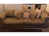 Free living room suite - large sofa and armchair