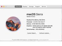 Apple MacBook Pro with Retina display i7 2,3 GHz