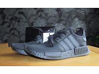 Adidas NMD R1 Triple Black - Size 9