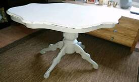 Shabby chic French style coffee table