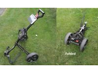 Dunlop Tour Micro golf trolley, compact foldable