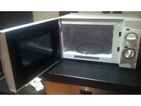 CURRYS ESSENTIALS 17L MICROWAVE OVEN 700W 5 POWER LEVEL+EXTRA BASE PLATE+3 mon old+ORIGINAL PACK