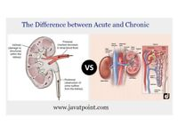 What is theDifference between Acute and Chronic ? - JavaTpoint