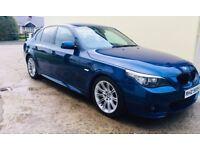 BMW E60 520D **Facelift** Auto Le Mans Blue
