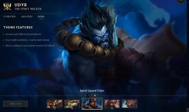 EPIC league of legends account on EU west 135 skins open to offers