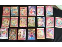 Selection of 18 Barbie DVDs