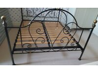 The Iron Bed Company King size Iron Bed Frame (can delivery locally)