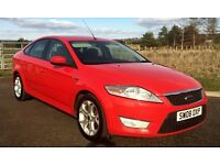 Immaculate 2008 Ford Mondeo 2.0 Tdci Zetec Flame Red 94k hist,mot Sept 17 both keys LOVELY CAR !!