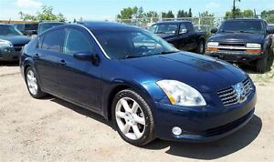 2004 Nissan Maxima SE 3.5L V6 Leather & Sunroof  BOSE Sound!!