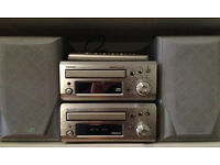 Denon UD-M31 CD receiver and DRR-M31 Tape Player with Mission M70i speakers