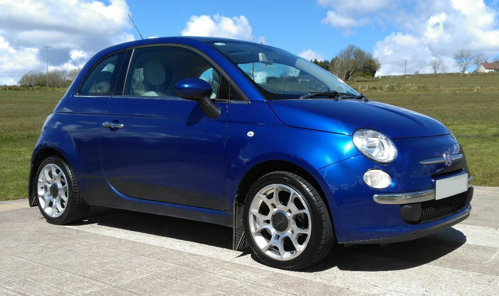 fiat 500 lounge new orleans blue 16 alloys in omagh county tyrone gumtree. Black Bedroom Furniture Sets. Home Design Ideas