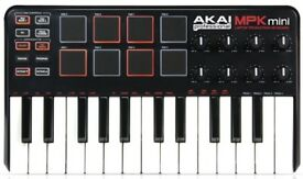 AKAI professional MPK mini LAPTOP PRODUCTION KEYBOARD | 2nd hand
