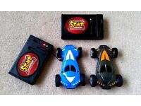 Remote controlled (laser) cars for children approx 5-10 years? + loop-the-loop, ramps, high jump