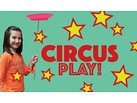 Circus Play - Circus classes for early years children fun after school activity Great Yarmouth