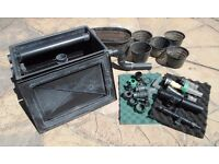 Pond Water filter tank, plant baskets and other assorted bits.