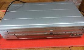 DVD recorder with video recorder + instruction manual