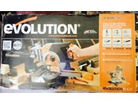 brand new evolution chop saw still boxed bargain