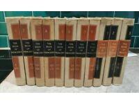 Vintage 11 Volume Set of Encyclopaedias, Waverley Books of Knowledge and Words