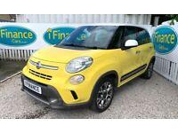 CAN'T GET CREDIT? CALL US! Fiat 500L 1.3 MultiJet Trekking, 2013, Manual- £200 DEPOSIT, £50 PER WEEK